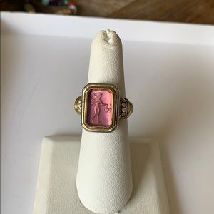 🌟Judith Ripka SS carved intaglio ring (6)